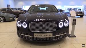bentley continental flying spur black bentley flying spur 2016 in depth review interior exterior youtube