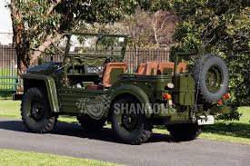 vintage military jeep sold austin champ military jeep 4x4 auctions lot 8 shannons