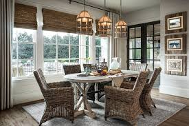 industrial dining light dining room farmhouse with roman shades