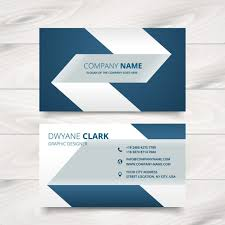 Free Business Card Maker Download Creative Simple Business Card Design Vector Free Download