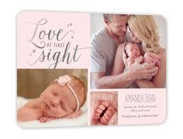 birth announcements at sight girl 5x7 flat birth announcement shutterfly