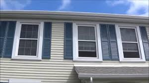 Spray Paint Vinyl Shutters - how to paint exterior shutters fast and easy youtube