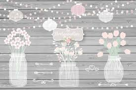 jar wedding invitations vector jar wedding invitation cli design bundles