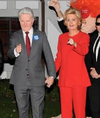 halloween mystery party katy perry dresses up as hillary clinton for halloween is joined