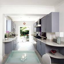 narrow galley kitchen ideas small galley kitchen design uk juanjosalvador me