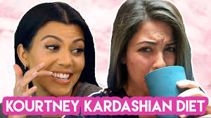i ate like kourtney kardashian for a week youtube