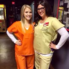 Prisoners Halloween Costumes Diy Halloween Costume Orange Black Popsugar Love U0026