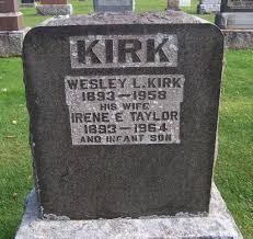 infant headstones headstones kirk wesley leroy and irene e with infant
