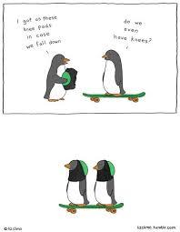 Penguin Meme - penguins do have knees penguins know your meme