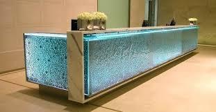 Reception Desk Glass Glass Reception Desk Modern Glass Reception Desk Glass Reception