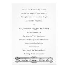 catholic wedding invitations catholic wedding invitation wording christmanista