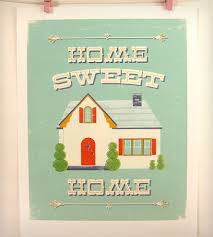 vintage home interior products home sweet home