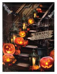 halloween lighted picture shelley b home and holiday com