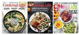 cooking light subscription status cooking light magazine low price
