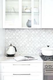 white kitchen backsplash tile beveled arabesque subway tiles ideas
