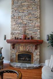 awesome natural stone fireplace hearth excellent home design fancy