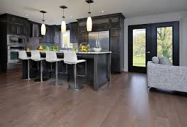grey kitchen cabinets wood floor matching hardwood floors with your kitchen cabinets
