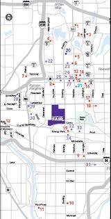 minnesota state fair map minnesota state fair park free ride free