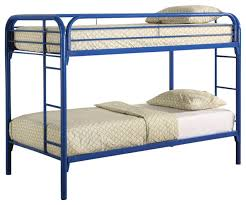 Colors Metal Fordham Twin Bunk Bed W BuiltIn Ladders Full - Guard rails for bunk beds