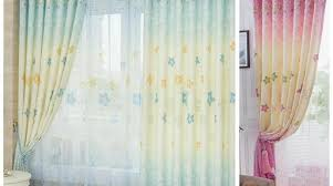 Window Treatment For Bow Window Pretty Images Exuberant Curtains Blackout Charm Neat Kids Room