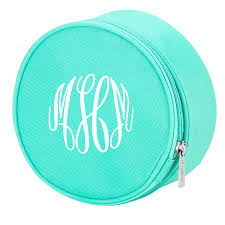 monogramed jewelry monogrammed jewelry pouch