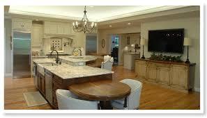 2 level kitchen island white kitchen cabinetry elegant