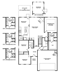 cary new home plan beaufort sc centex home builders shadow moss