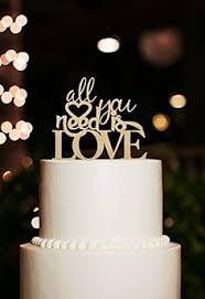 all you need is cake topper acrylic wedding cake topper silhouette by walldecal76