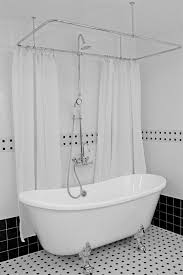 Design Clawfoot Tub Shower Curtain Rod Ideas Excellent Marvellous Design Clawfoot Tub Shower Curtain Rod 25