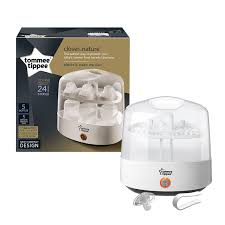 tommee tippee electric steriliser white amazon co uk baby