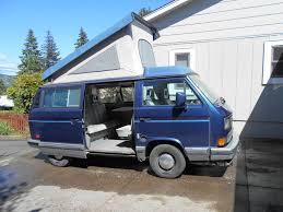 volkswagen vanagon blue tesfalia tesla powered vanagon westfalia build