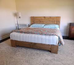 Reclaimed Wood Platform Bed Outstanding Reclaimed Wood Platform Bed Frame Inspirations With