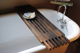 bathtub rack tray 15 bathtub tray design ideas for the bath