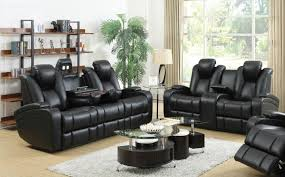 Reclining Sofas And Loveseats Black Leather Power Reclining Sofa And Loveseat Set A Sofa