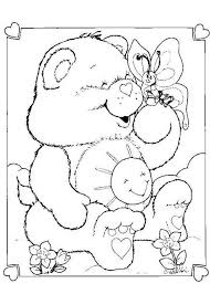 picture bear color kids coloring