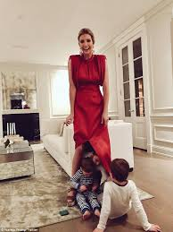 ivanka trump ivanka trump posts snap of her kids playing peek a boo daily