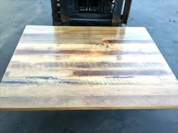 desk reclaimed wood table top restaurant reclaimed wood