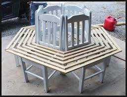kitchen chair ideas creative ideas how to build a bench around a tree using