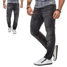 Comfort Fit Mens Jeans Slim Fit