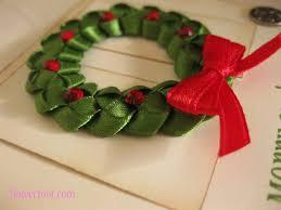 ribbon wreath flower foot designs christmas ribbon wreath tutorial