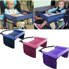 kids baby safety waterproof snack car seat table play travel tray