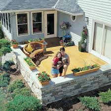 Deck To Patio Transition 10 Amazing Inspirational Decks Family Handyman
