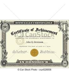 vector official certificate template vector highly detailed