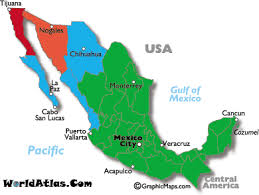 map of time zones usa and mexico mexico time zone map and time zone information worldatlas