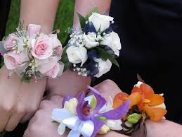 wrist corsage prices file wrist corsages jpg wikimedia commons