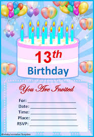 free birthday template invitations best 25 printable birthday