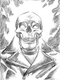 sketches for ghost rider skull sketches www sketchesxo com