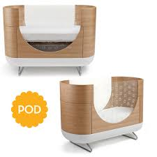 Modern Nursery Furniture by Ubabub Pod Crib Growing Your Baby Growing Your Baby