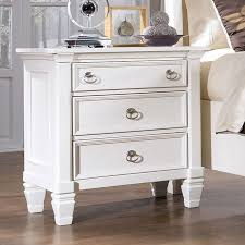 beautiful wide night stands prentice sleigh storage bedroom set