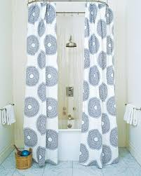 Shower Curtain Design Ideas 10 Extra Long Shower Curtain Ideas Rilane